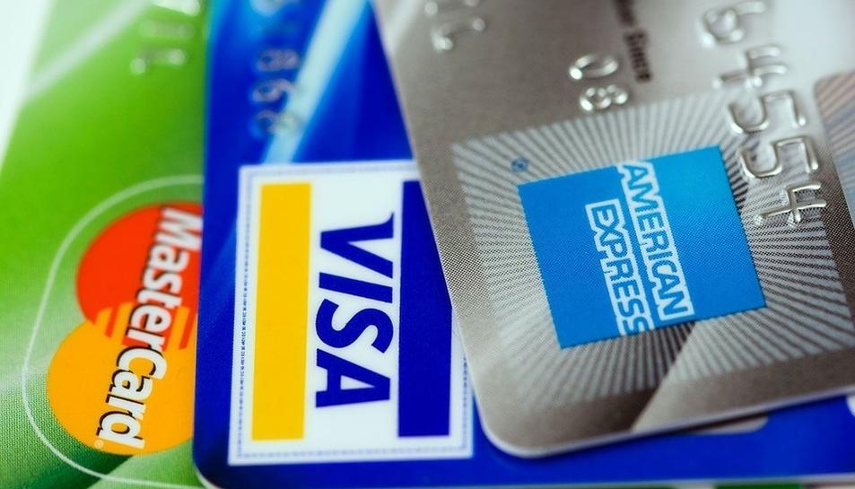 Imatge d'arxiu targetes de crèdit.