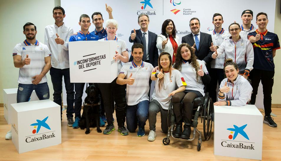 CaixaBank donarà beques als esportistes paralímpics espanyols perquè puguin preparar-se per Tòquio 2020.