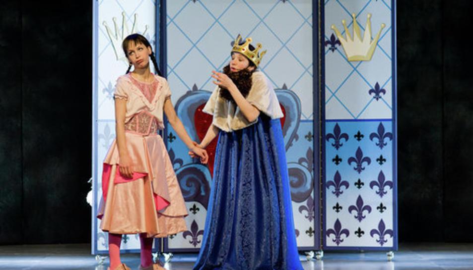 L'espectacle està recomanat per a infants de 5 a 12 anys.