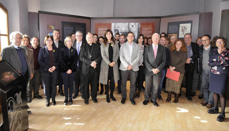 Imatge de la reunió de la