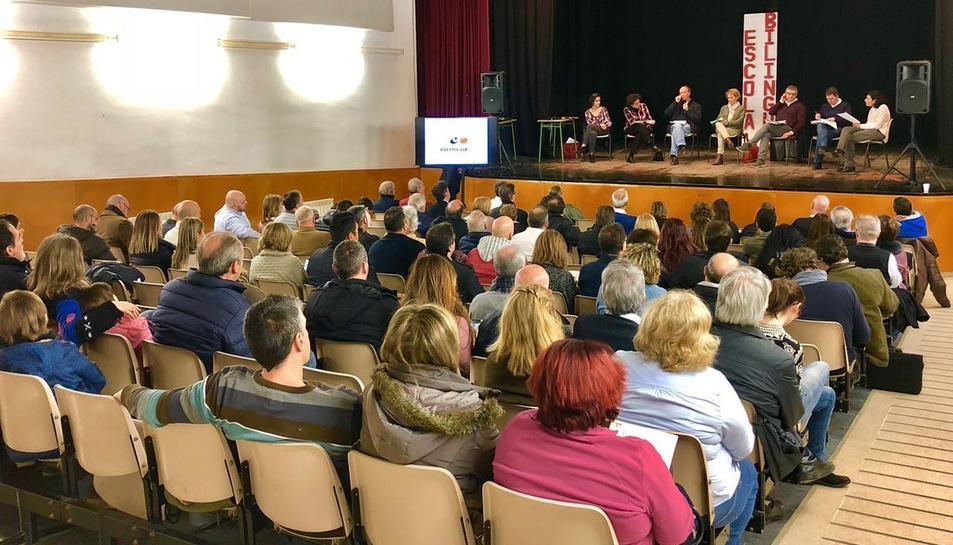 Imatge d'arxiu de la Festa per una Escola Bilingüe celebrada a Torreforta.