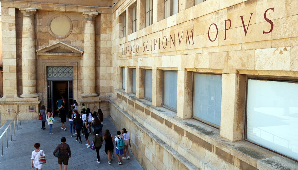 Panoràmica general del Museu Nacional d'Arqueologia de Tarragona (MNAT).