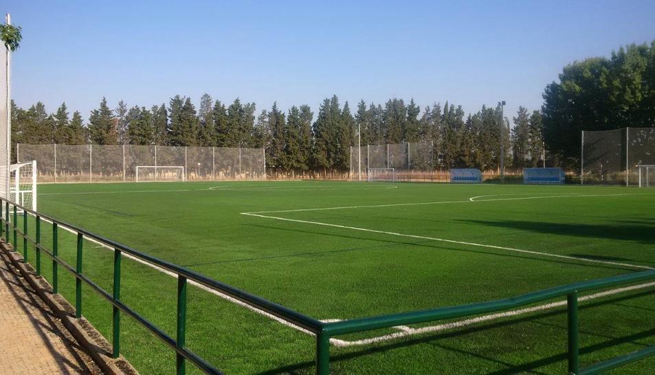 Els fets es van produir al Parque Deportivo Ebro de Saragossa.