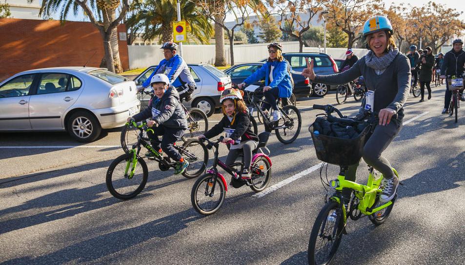 La XXV pedalada popular de Salou