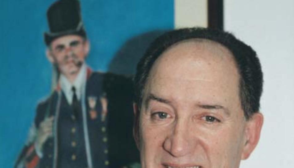 Francesc Torrents Massot en una entrevista a la revista dels Mossos