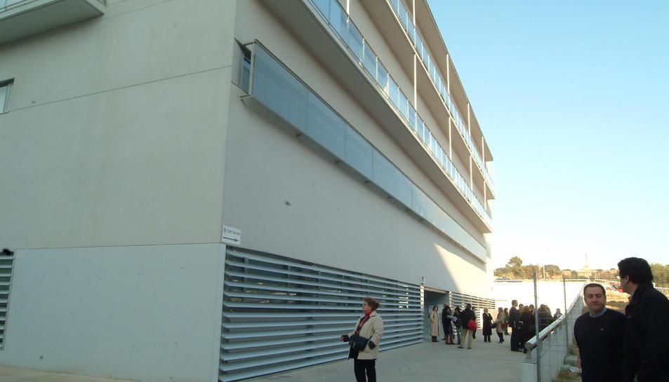 Façana del CAP Tarraco, localitzat a tocar del Joan XXIII.