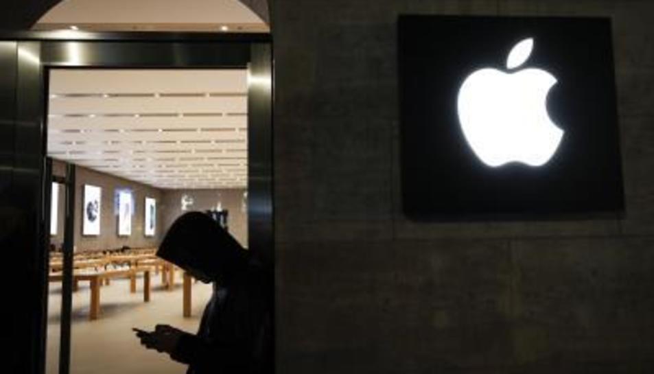 Imatge d'arxiu d'una botiga Apple.