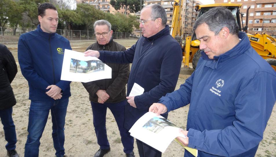 L'espai es construirà a Mas Iglesias.