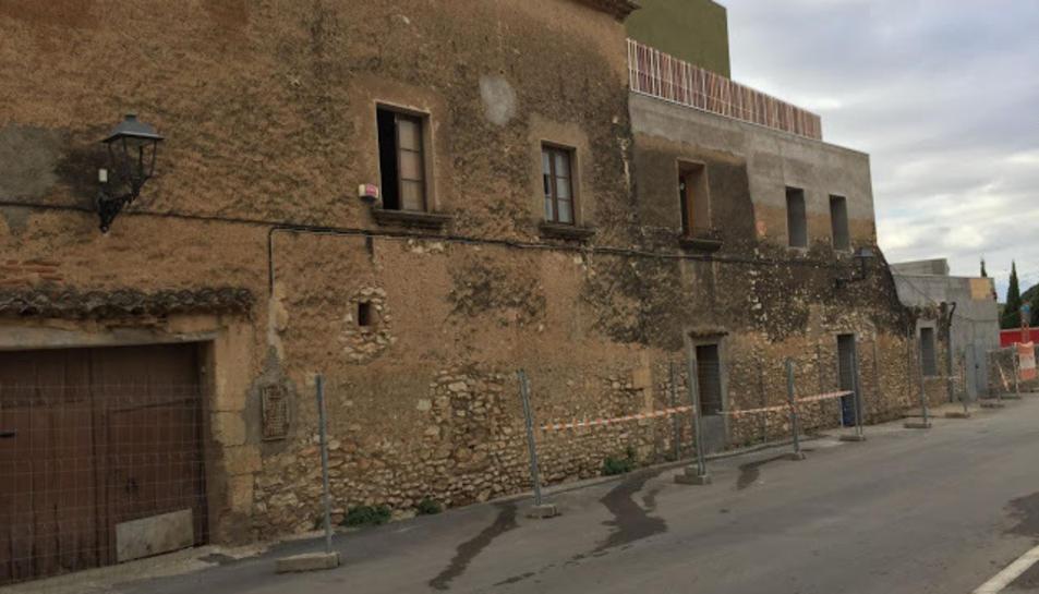 Mas de l'Hort de l'Abeurador, al municipi de la Canonja.