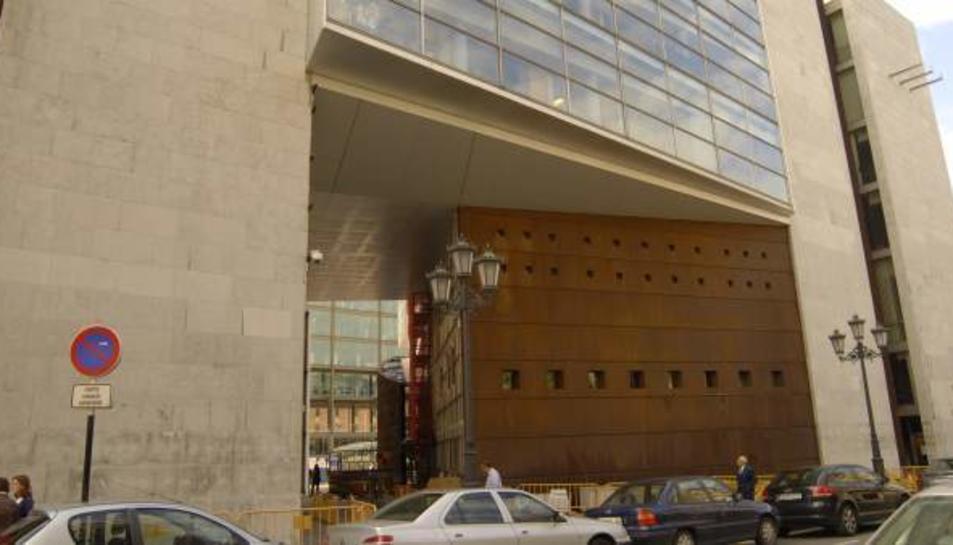 Imatge d'aerxiu de l'Audiència Provincial d'Oviedo.