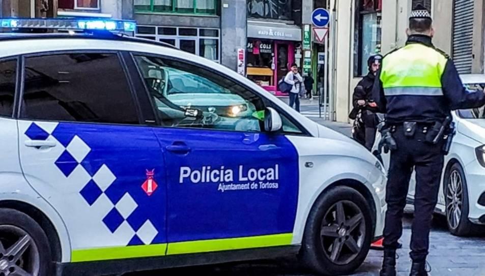 Imatge d'arxiu de la Policia Local de Tortosa.