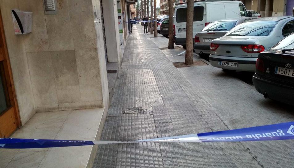 Els fets es van produir dimecres cap a les 14 hores al carrer de l'Argentera.