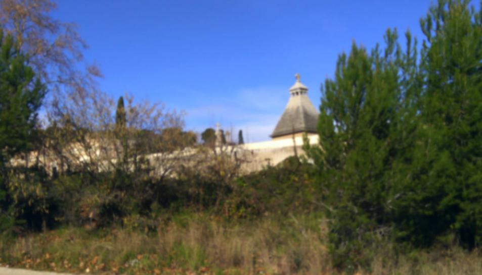 Imatge de l'entorn del cementiri de Tarragona.