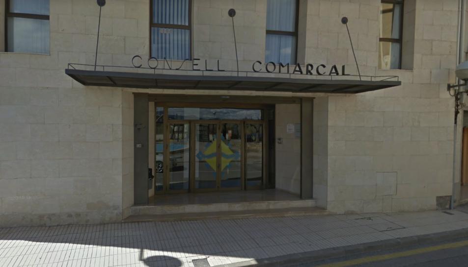 Imatge del Consell Comarcal de Ribera d'Ebre, a Móra d'Ebre.