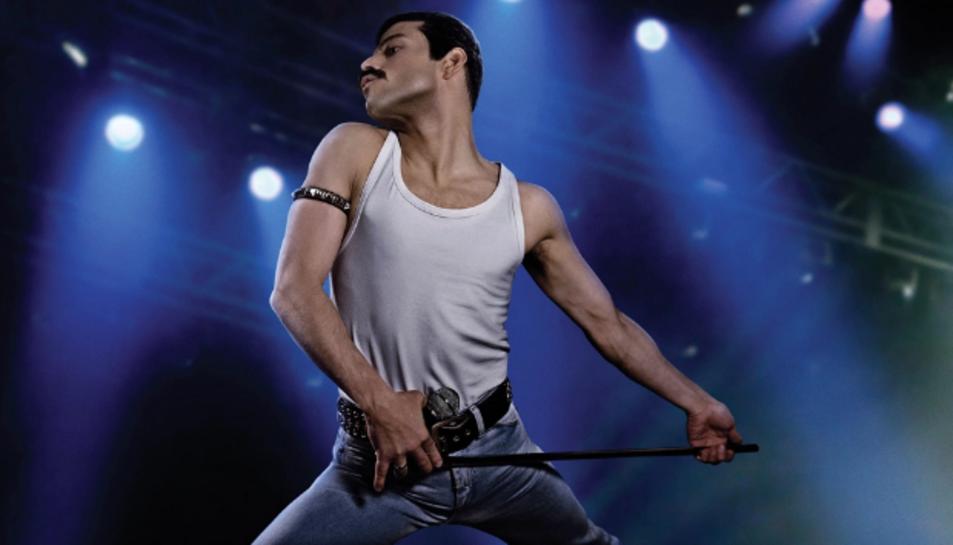 Rami Malek interpretant a Freddie Mercury.