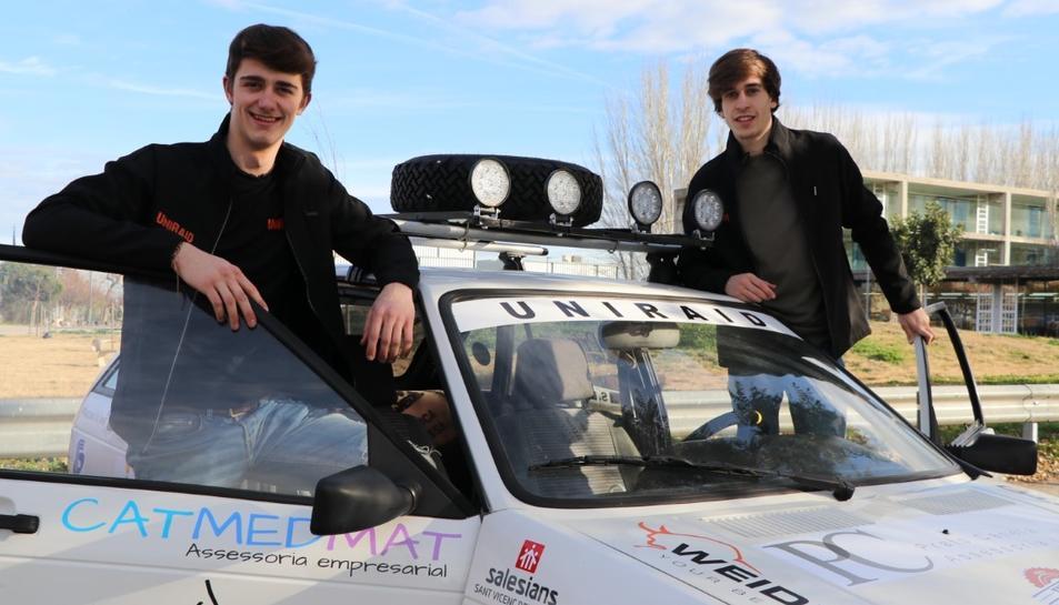 Marc Conca i Sergi Llussà, l'equip Secogear.