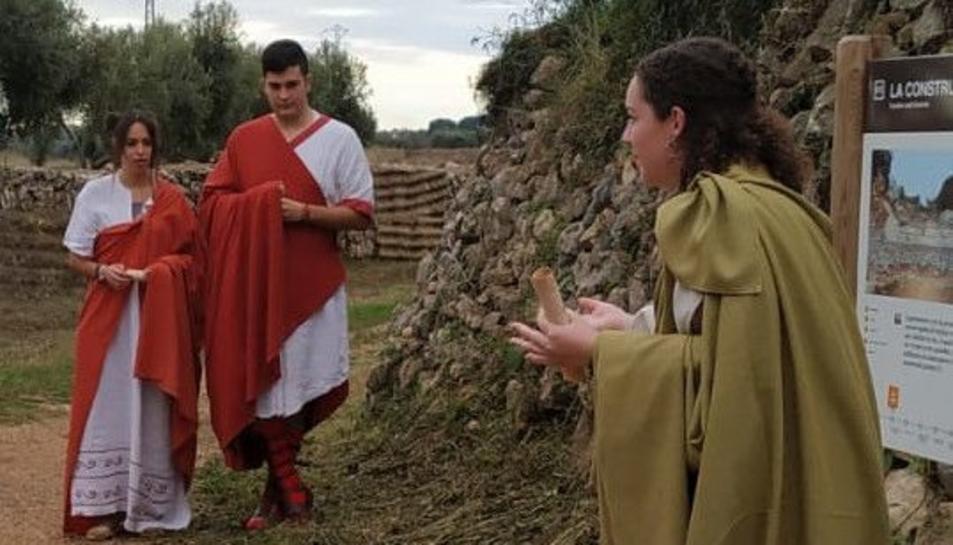 La ruta recorrerà la Via Augusta que va ser restructurada per l'emperador August.