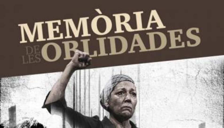 Cartell de la representació de 'Memòria de les Oblidades' a Torredembarra.