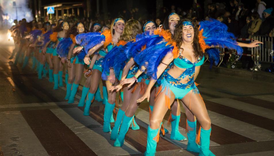 Imatge d'una edició passada del Carnaval de Calafell.
