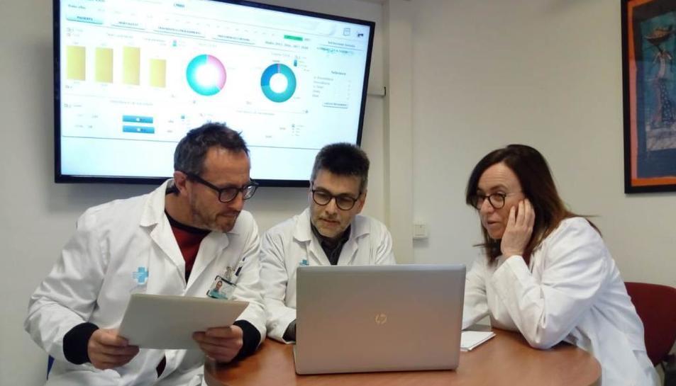 Les dades s'utilitzen per a la gestió i la recerca amb l'objectiu final de millorar l'atenció al pacient.