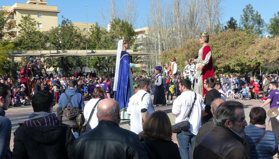 Imatge de la Festa Major de Salou que es recuperà aquest cap de setmana.
