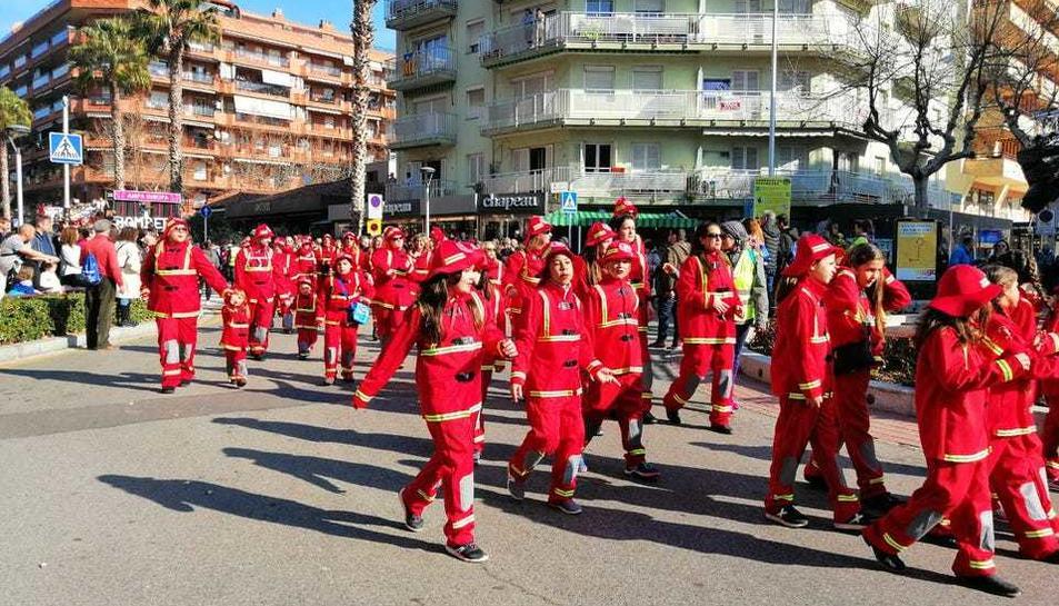 El desfile matinal del Coso Blanco (3)