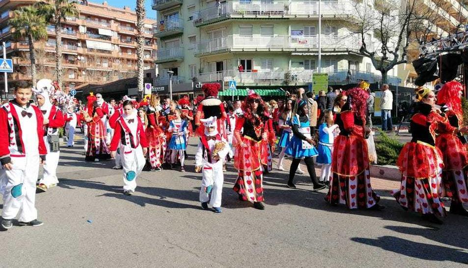 La desfilada matinal del Cós Blanc (3)