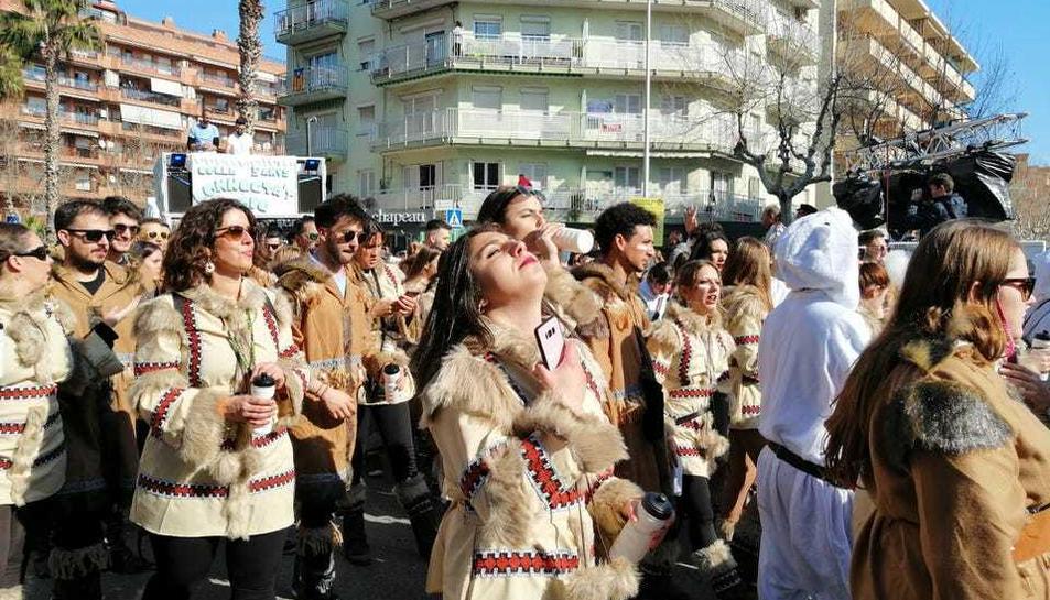 La desfilada matinal del Cós Blanc