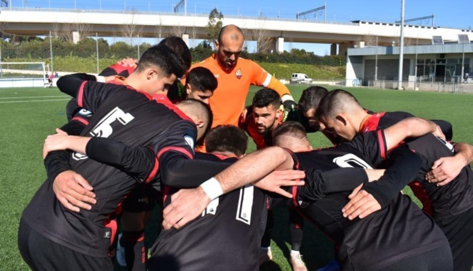 Els jugadors del Reus B traslladen el seu campament base a la capital del Baix Camp.