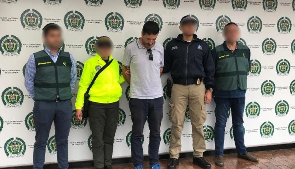 El líder de l'organització va ser detingut a Colombia.