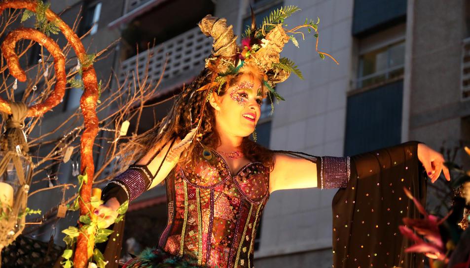La coreografia i la vestimenta titulada Aquelarre van ser de les més lluïdes del Carnaval del 2018.