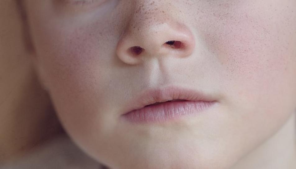 Imatge de la cara d'una nena.