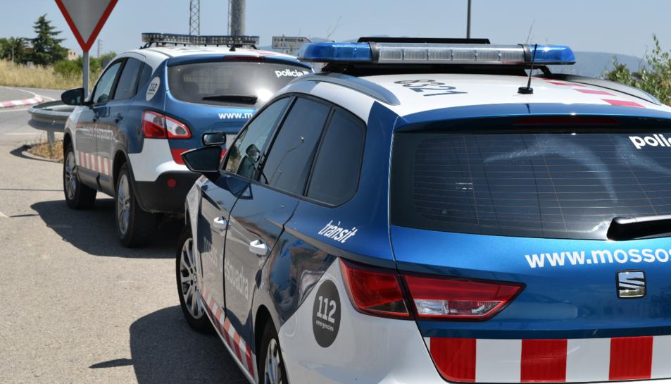 Imatge d'arxiu d'uns vehicles dels Mossos d'Esquadra.
