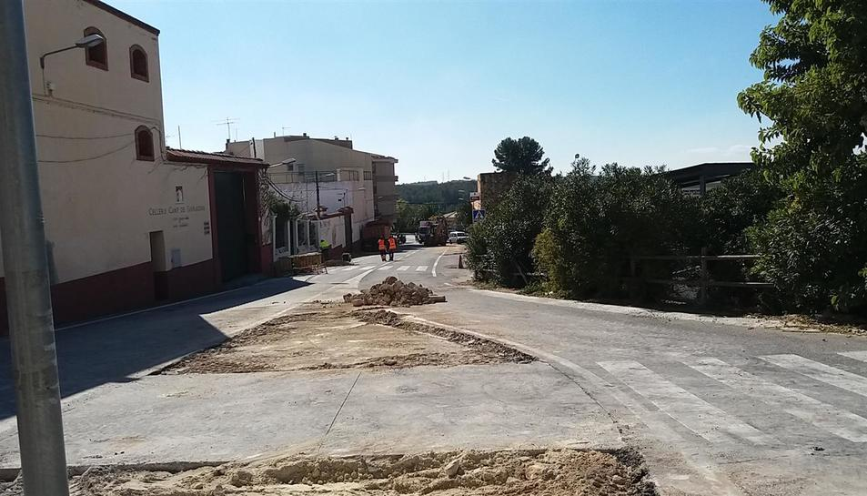 Les obres compten amb un pressupost de més d'un milió d'euros.