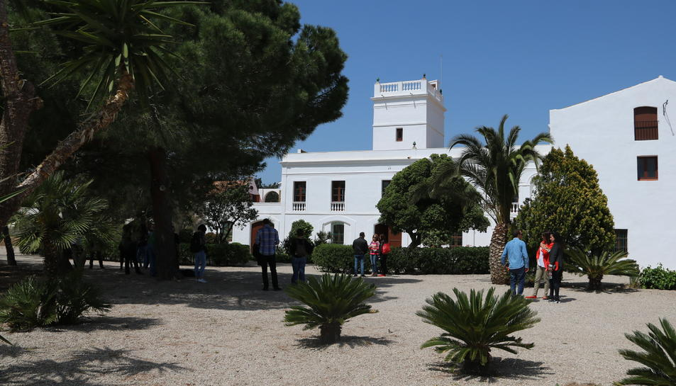 Pla obert de Mas Miró a Mont-roig del Camp.
