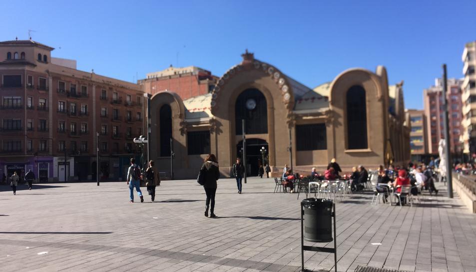 Plaça Corsini de Tarragona