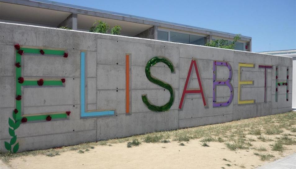 Imatge de l'exterior de l'Escola Elisabeth.