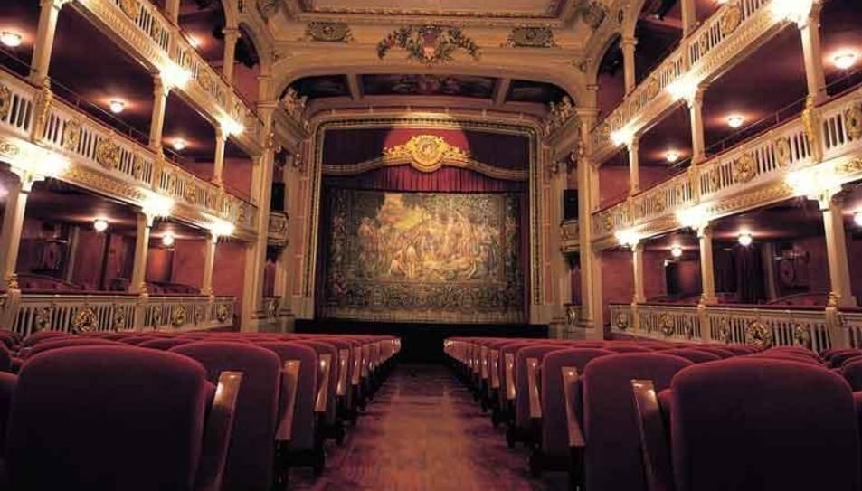 Teatre Batrina, espai on es faran les exhibicions del Tots Dansen.