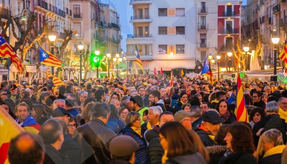 Manifestació multitudinària a Tarragona (I)