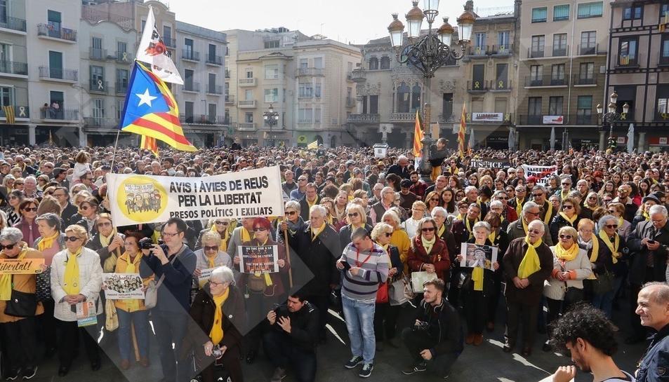 Concentració per la vaga general a Reus (II)