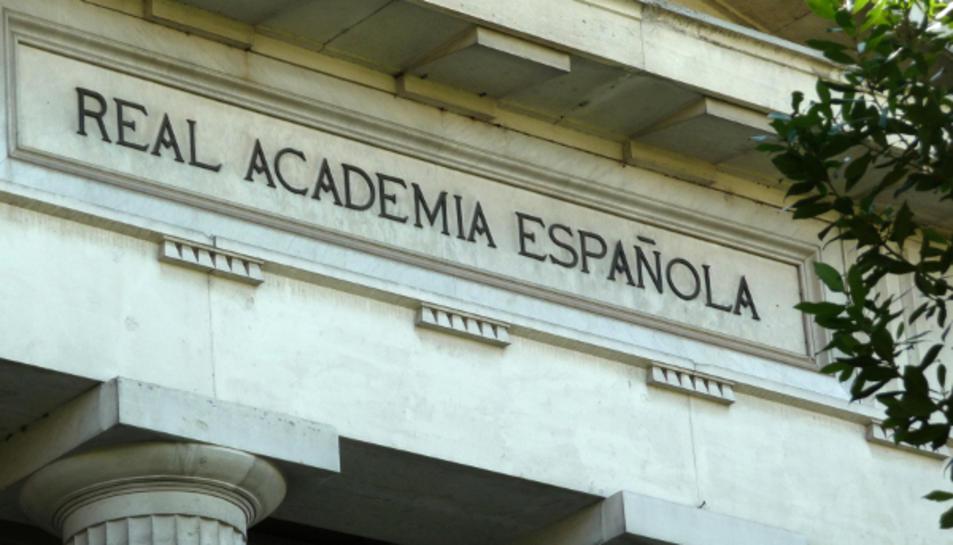 Imatge de l'edifici de la RAE.
