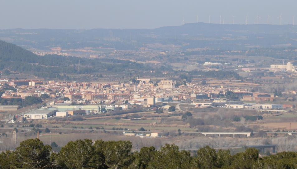 Vista panoràmica de Montblanc, capital de la Conca de Barberà.