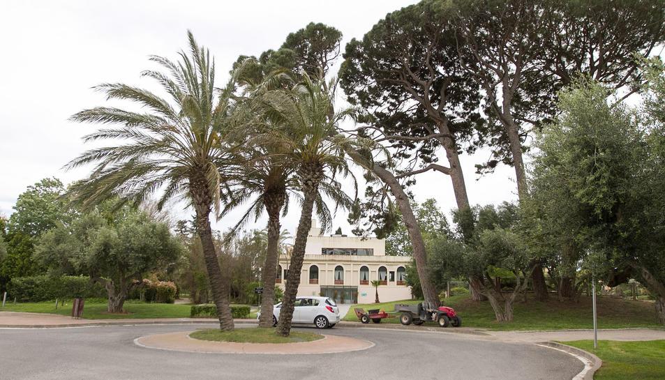 Una imatge d'arxiu del complex del Golf Aigüesverds.