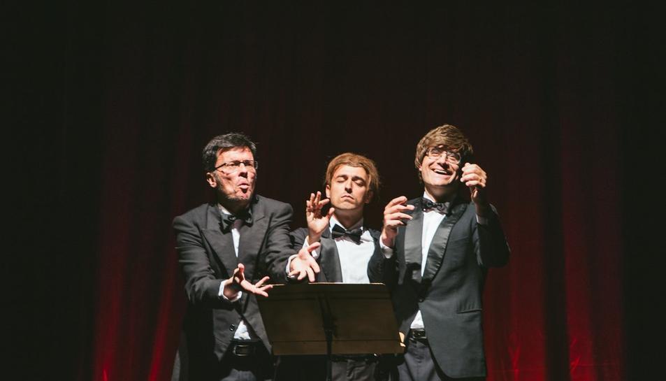 Miquel Cobos, l'Ezequiel Casamada i Albert Mora portaran a l'escenari l'obra 'Tenors'.