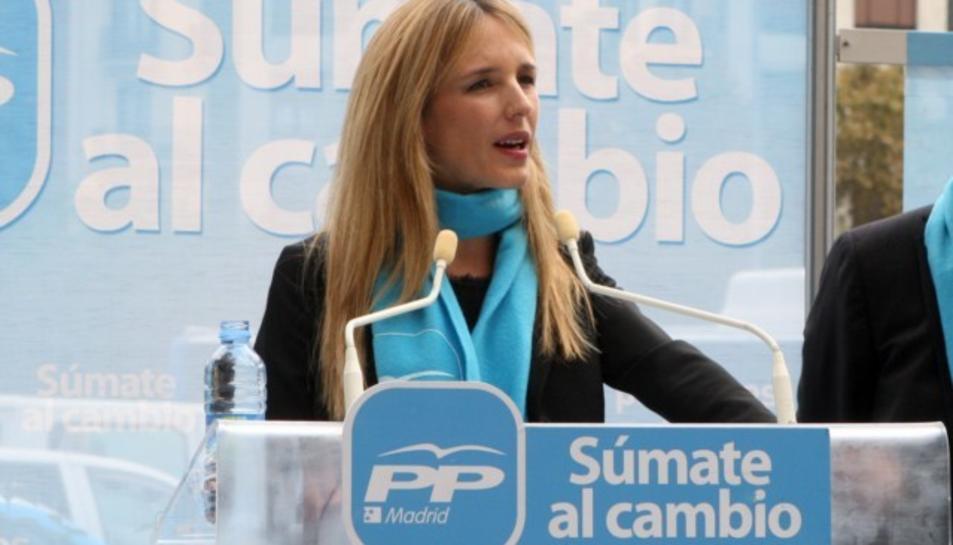 Imatge d'arxiu de Cayetana Álvarez de Toledo, candidata del PP per Barcelona.