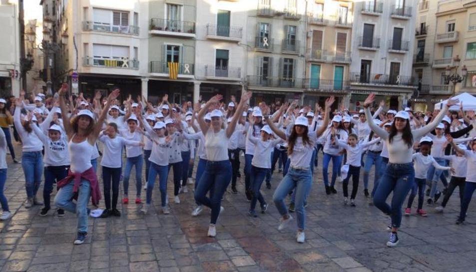 La flashmob a Reus
