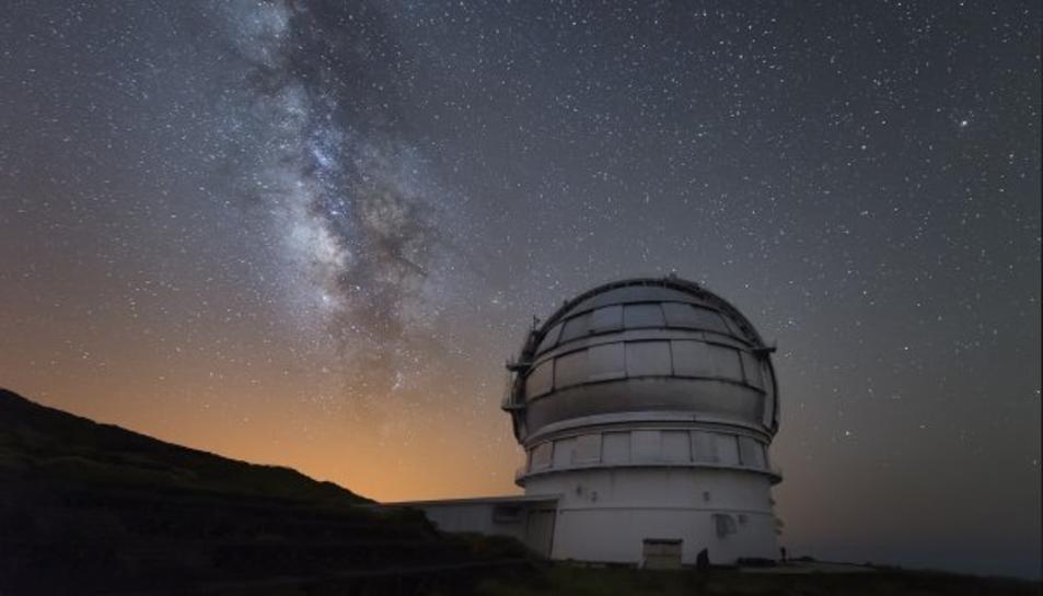 Les observacions s'han fet des del Gran Telecopi de les Canàries.