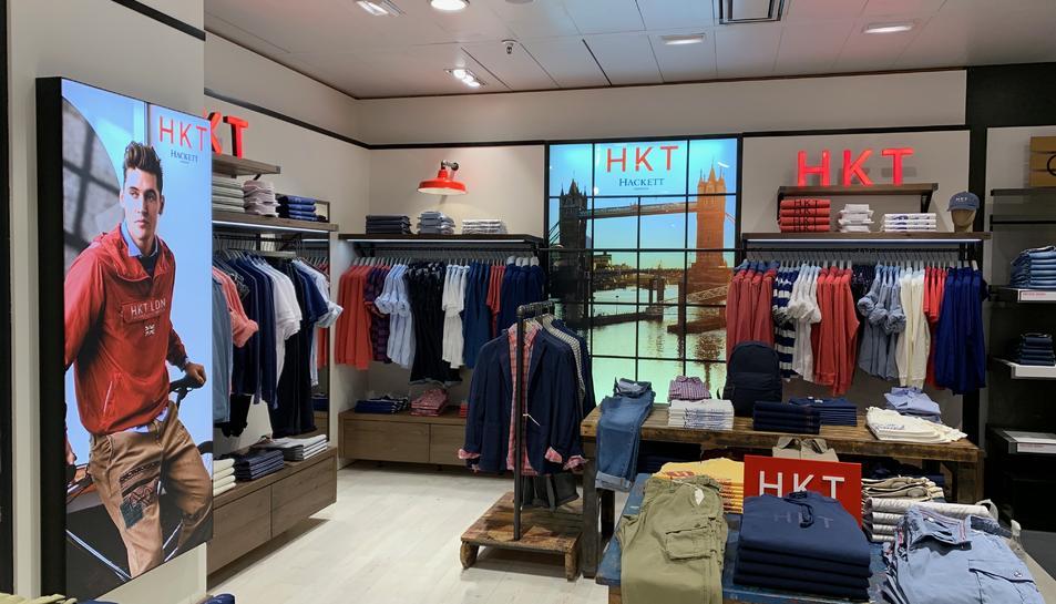 Imatge de la botiga HKT que s'ha inaugurat al Corte Inglés de Tarragona.