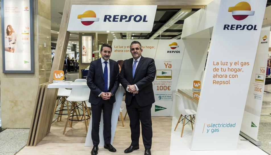 Els consellers delegats de Repsol i El Corte Inglés, Josu Jon Imaz i Víctor del Pozo.
