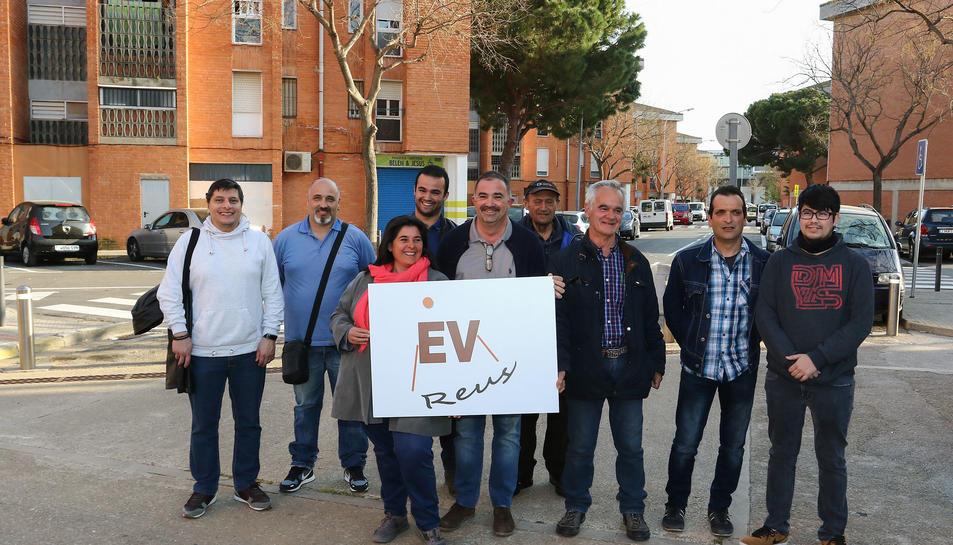Torrijos, Rodríguez, Navas i altres membres de la candidatura integrada per representants veïnals.